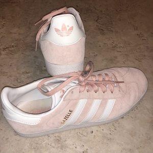 Adidas gazelle pink shoes